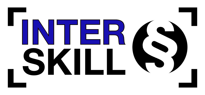 rozšířená verze loga InterSkill s piktogramem